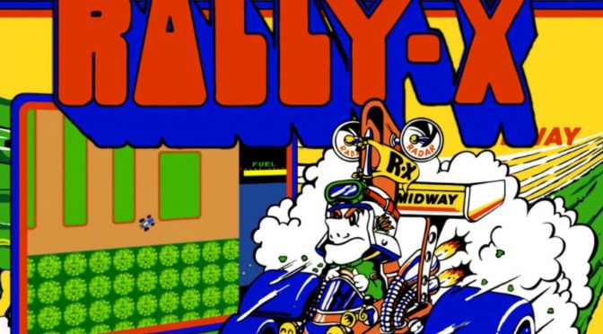 Rally-X : o resgate de um clássico