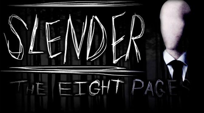 Muitos sustos com o game Slender The Eight Pages