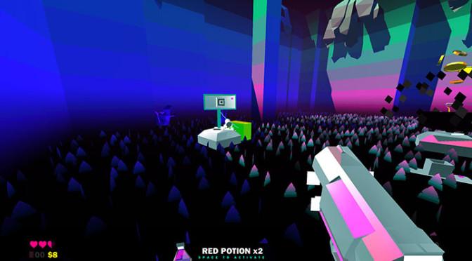 Heavy Bullets: FPS indie cheio de psicodelia e muita dificuldade