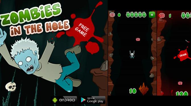 Zombies in the Hole: colete cérebros e tente bater seu recorde
