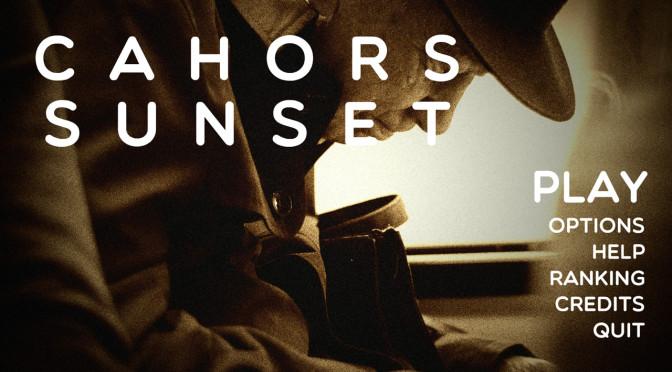 Locomotivah convida jogadores a testar Cahors Sunset
