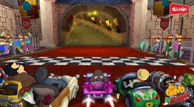 Chaves Kart chega ao mercado brasileiro para Xbox 360 e Playstation 3