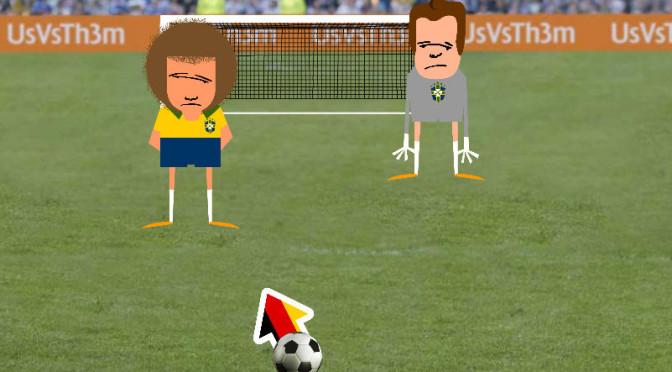 Site cria games que brincam com a goleada sofrida pelo Brasil na Copa e com a mordida de Suarez
