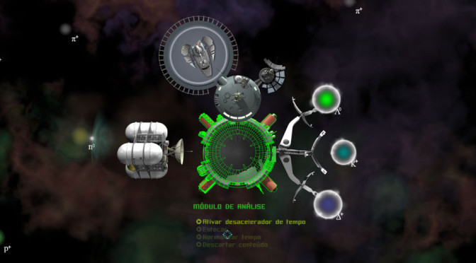 Sprace leva os jogadores ao universo das partículas subatômicas