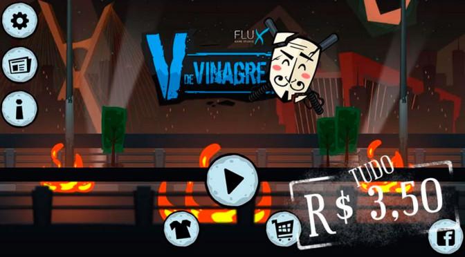 V de Vinagre: sucesso em 2013 ganha nova versão com gráficos 2,5 D
