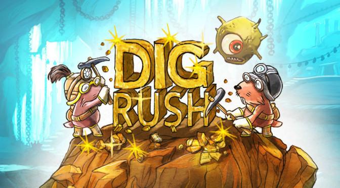 Dig Rush: primeiro jogo terapêutico baseado em método patenteado para tratar ambliopia