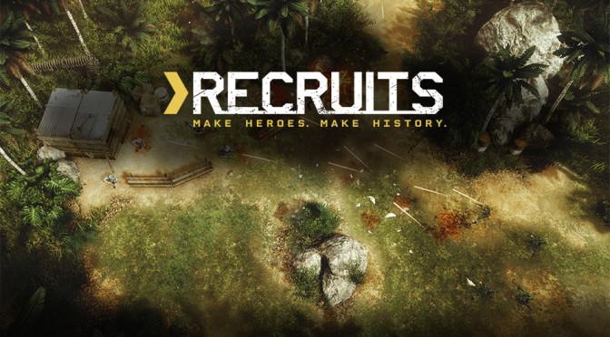 Recruits: QUByte revela novo game para PCs e consoles de mesa
