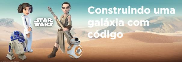 Code.org lança jogo de programação de Star Wars