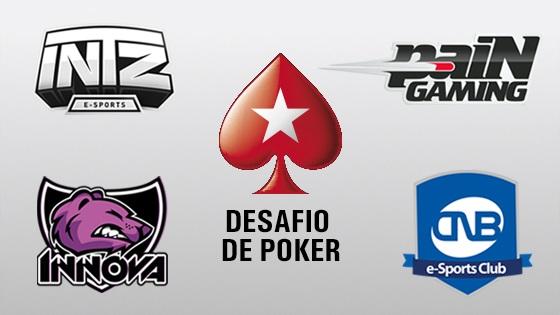 INTZ participa de torneio no PokerStars Digital Experience