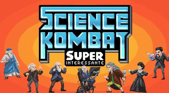 Físicos saem na mão no jogo brasileiro Science Kombat