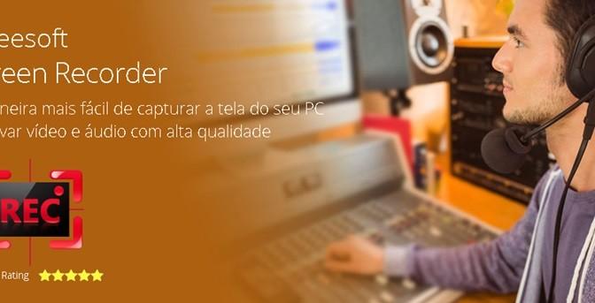 Aiseesoft lança Screen Recorder em português, plataforma é indicada para Youtubers