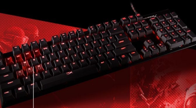 Kabum! lança com exclusividade o teclado ALLOY FPS da HyperX