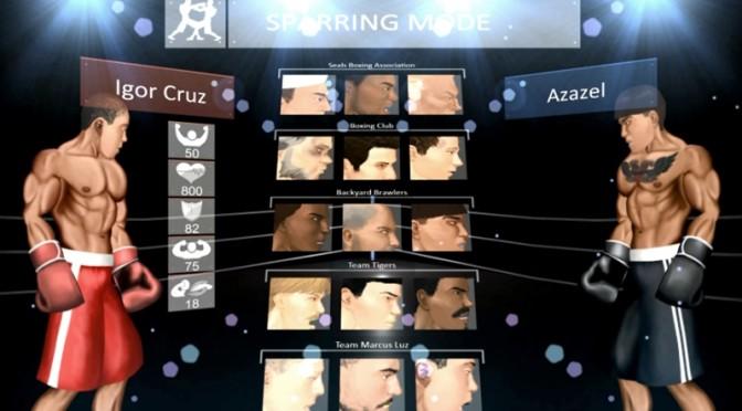 Conheça o jogo de boxe brasileiro Cruz Brothers