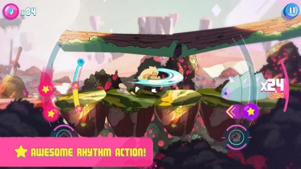 Afine seus ouvidos comSoundtrack Attack, um jogo de ritmo ao som das músicas de Steven Universo