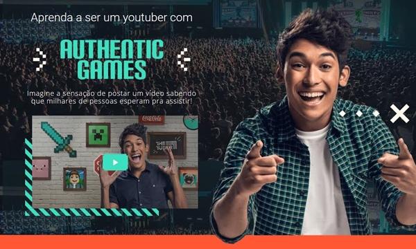 """Authentic Games lança desafio de vídeos """"The Tuber"""" para revelar próximo youtuber sensação"""