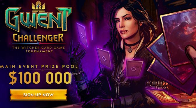 GWENT tem seu primeiro Campeonato Oficial com premiação de US$ 100 mil