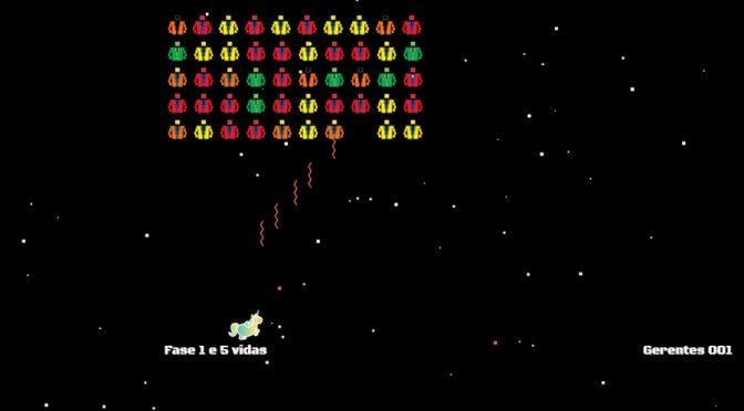 Invaders – Banco Neon relembra clássico dos Arcades com nova roupagem