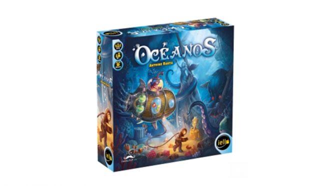 """Uma aventura te aguarda nas profundezas em """"Oceanos"""", novo boardgame da Sherlock S.A"""