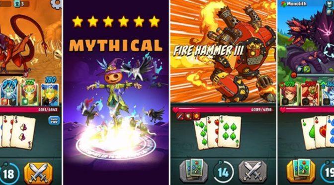Battlejack, RPG de fantasia e batalhas com cartas, chega aos dispositivos móveis em 24 de agosto