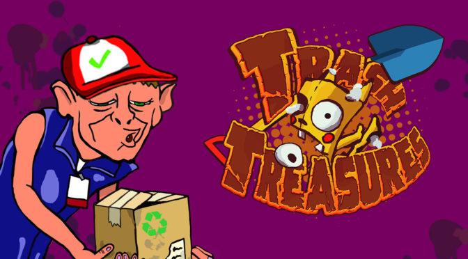 Conheça Trash Treasures, o game indie brasileiro para fãs de humor negro e cultura nerd