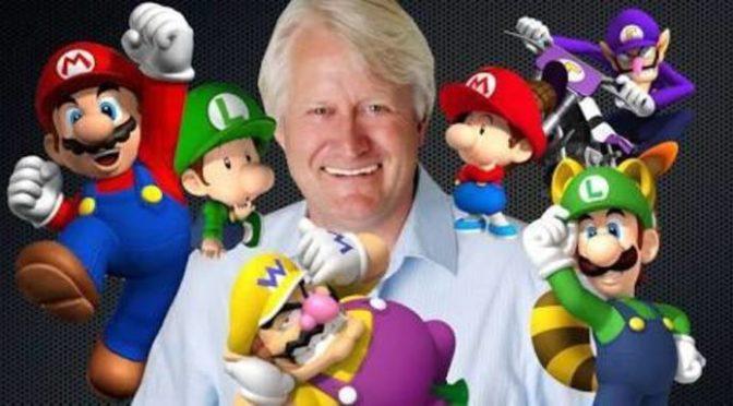 Charles Martinet, o dublador do Mario, confirma presença na BGS 2018