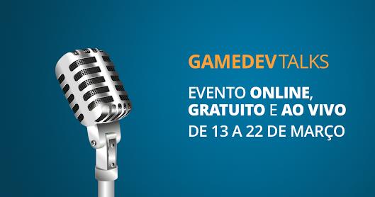 Não perca o último dia do GameDevTalks, evento online e gratuito para contar casos de desenvolvedores que largaram tudo para investir em jogos digitais
