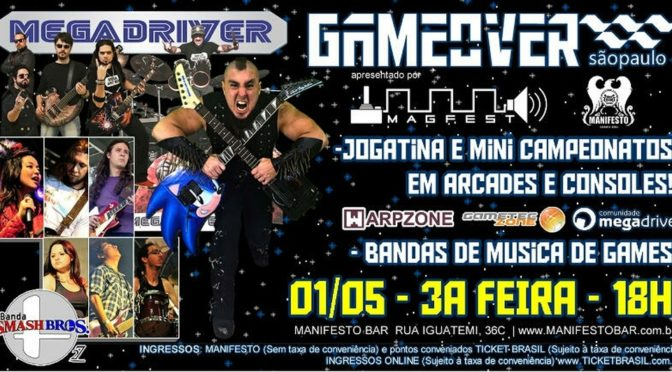 Game Over – Festival que une gamemusic e jogatina está de volta a São Paulo
