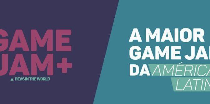 Já estão abertas as inscrições para a segunda edição da Game Jam+, o maior evento de desenvolvimento da América Latina