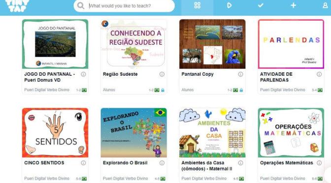 TinyTap – Alunos da escola Pueri Domus de SP criam jogos que estimulam o aprendizado de outras crianças