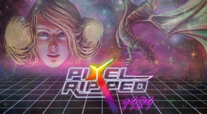 Pixel Ripped 1989 – jogo brasileiro de Realidade Virtual está disponível para compra antecipada com 20% de desconto com download no dia 31 de Julho