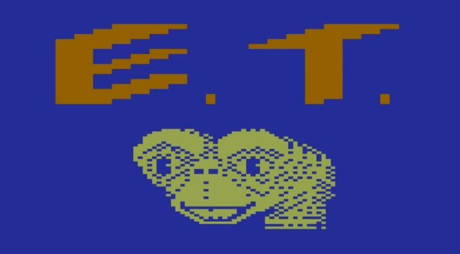 Os piores Jogos do Mundo #03: E.T. the Extra-Terrestrial, o game que enterrou o Atari 2600