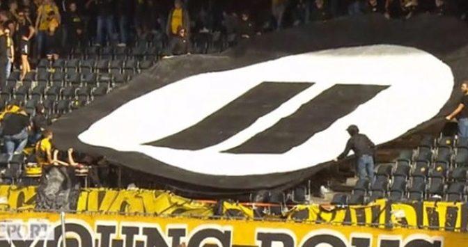 Torcedores suíços protestam contra os eSports durante partida de futebol