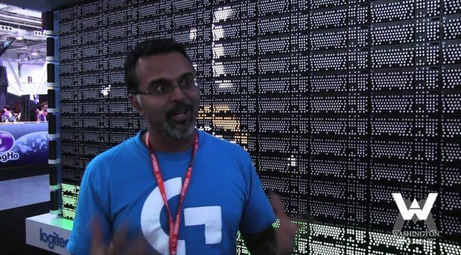 Logitech – Entrevistamos Ujesh Desai, VP da empresa, durante a BGS 2018