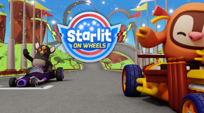 Jogo de kart Starlit On Wheels chega para celulares repleto de conteúdo