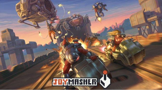 Conheça Blazing Chrome, o novo jogo da JoyMasher para fãs de shooter 2D