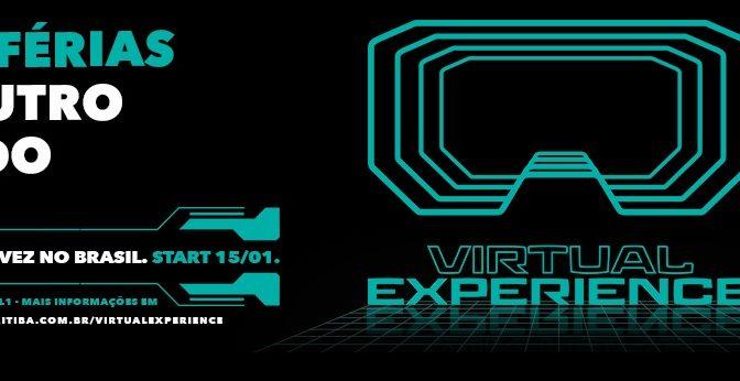 Virtual Experience – Curitiba recebe o 1º game center de VR viajante da América Latina