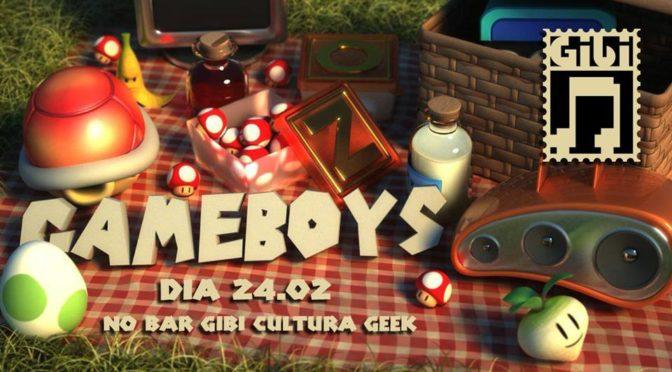 Banda Gameboys se apresenta no GIBI Cultura Geek