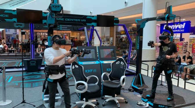 Virtual Experience – Fortaleza recebe o primeiro game center de realidade virtual da América Latina