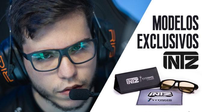 Titans Eyewear lança linha de óculos exclusiva em parceria com a INTZ