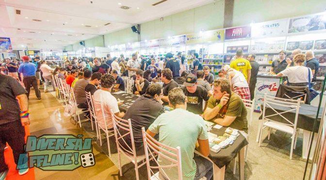 Diversão Offline – evento dedicado a board game que mais cresce na América agora é anual