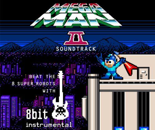 CD completo homenageia Mega Man 2