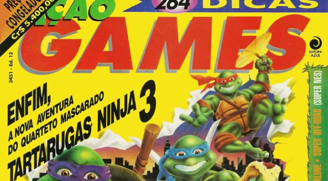 revistas clássicas de games