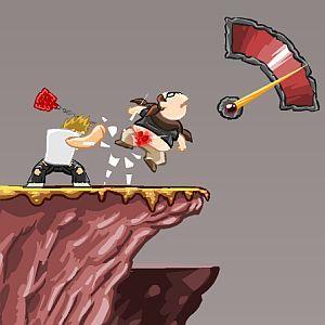 Webgame: arremesse o nerd o mais longe possível em Homerun In Berzerk Land