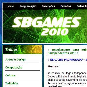 SBGames divulga novas datas do Festival Independente de Jogos