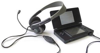 Headset para DS fará você parecer menos idiota!