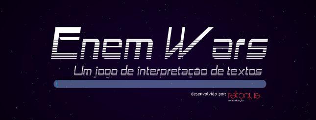 Webgame: jogue e interprete textos em Enem Wars