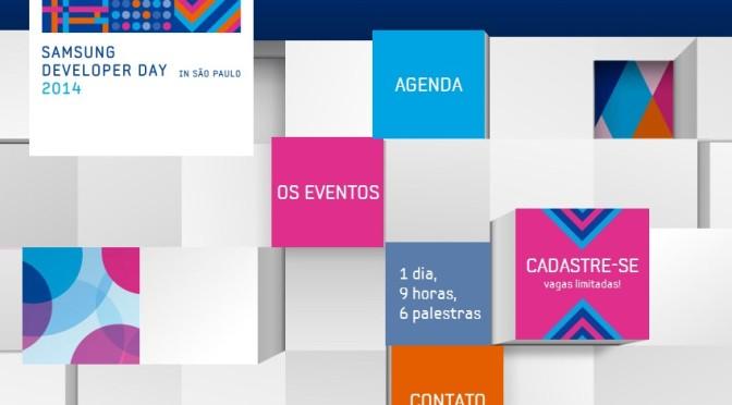 Inscrições abertas para o Samsung Developer Day em São Paulo