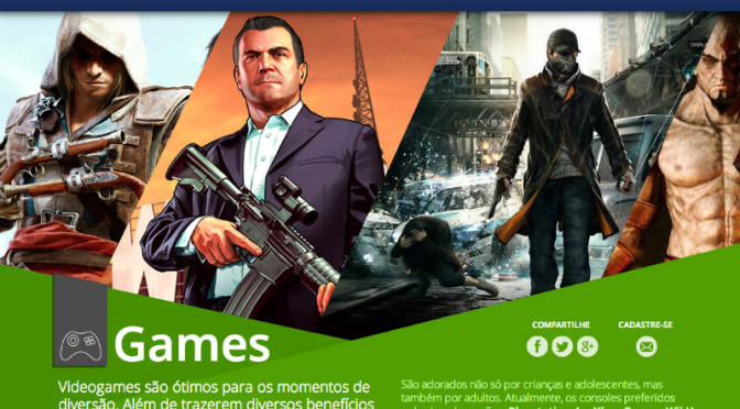 Colombo abre página dedicada a jogos eletrônicos