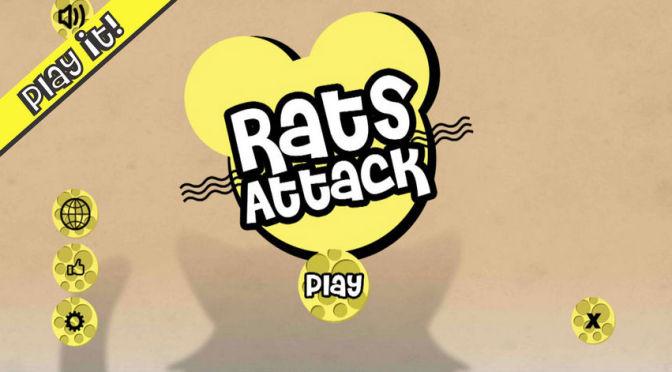 Rats Attack: mais um jogo casual para Android