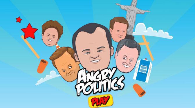 Angry Politics: game convida jogador a arremessar políticos